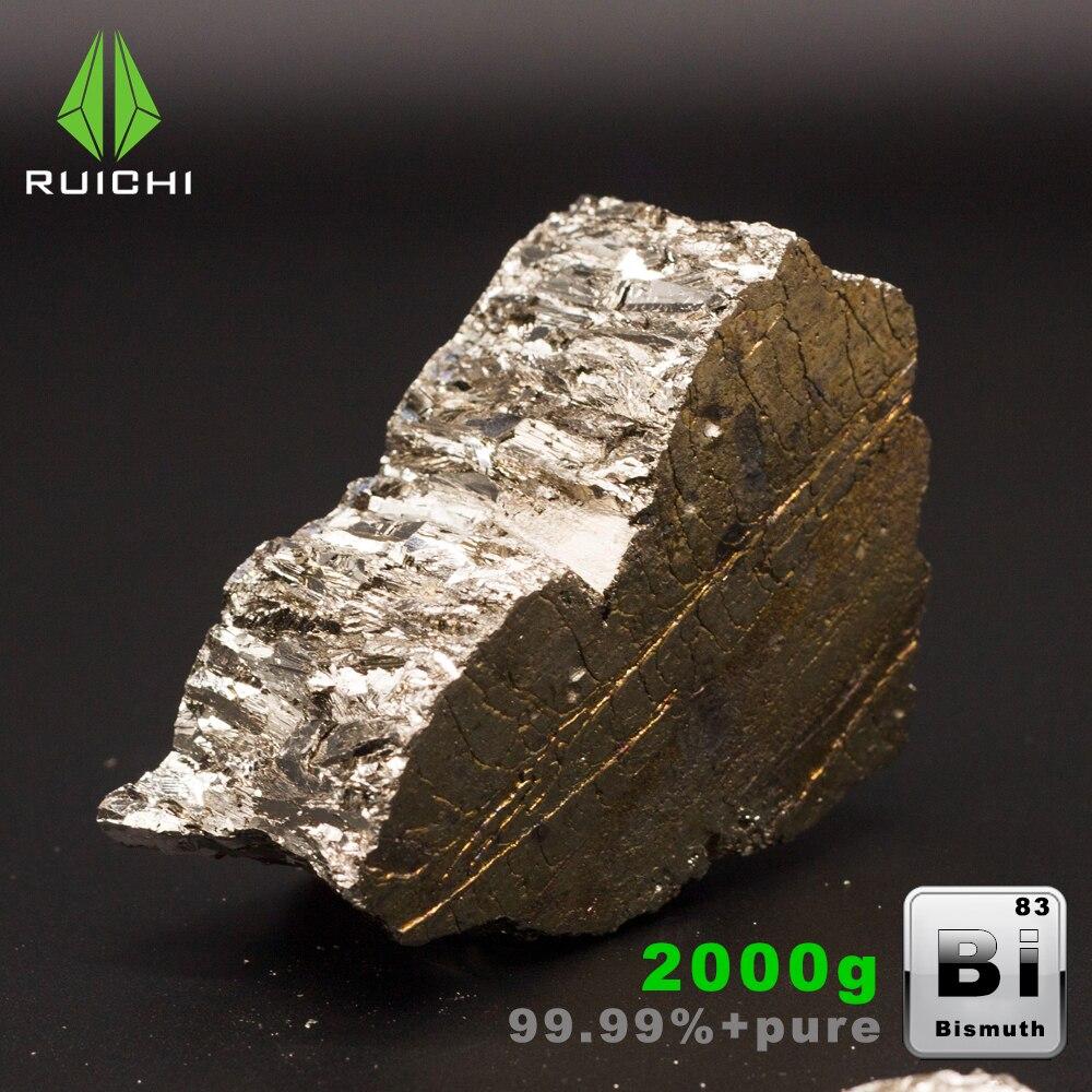 2Kg Bismuto Metallo Bismuto lingotto Bi Cristalli di Alta Purezza 99.99% di trasporto libero2Kg Bismuto Metallo Bismuto lingotto Bi Cristalli di Alta Purezza 99.99% di trasporto libero
