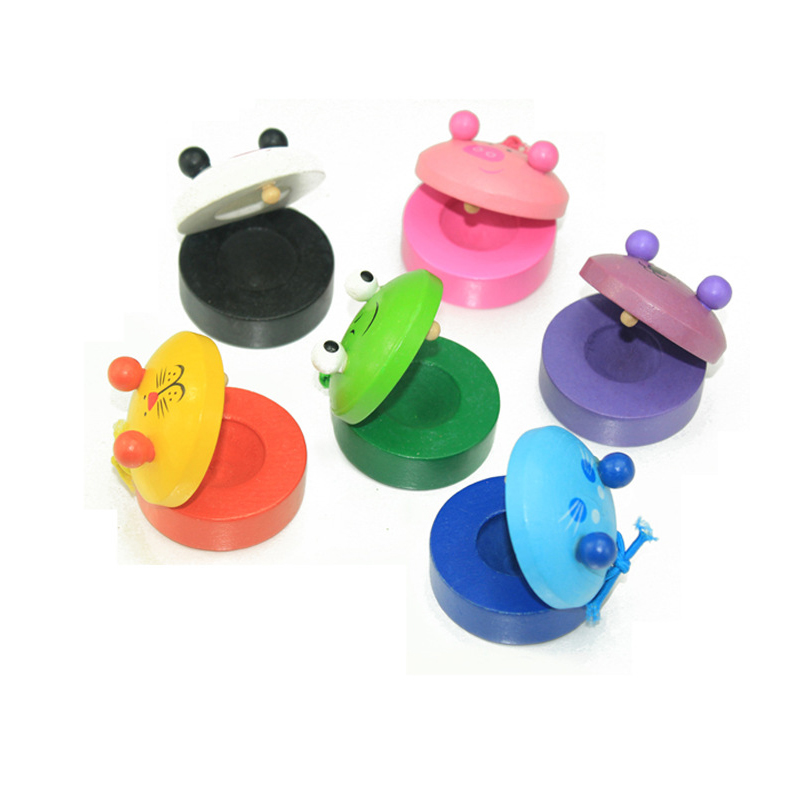Baby Classic Toys Noise Maker Castanets Baby Developmental Toys for 1-2years