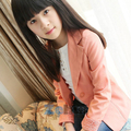 Baby Kids Girls Coat Floral Lace Blazers Jacket Suits Outwear Candy Color