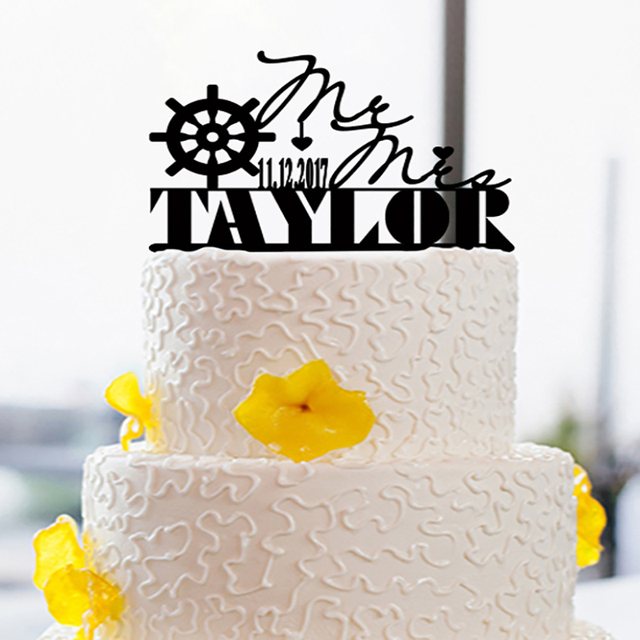 Cake Decorating Supplies Mariage Cake Toppers Anniversary Wedding