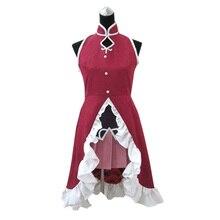 Anime Cheap Custom made Puella Magi Madoka Magica Kyoko Sakura Cosplay costume