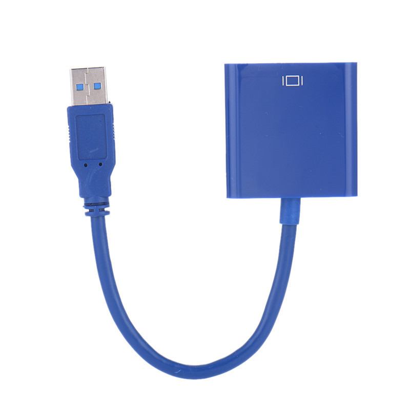 USB 3.0 / 2.0 to VGA USB VGA Adapter USB VGA Cable Projector 1080P HD Converter External Adapter for Win 7/8 rsexplorer usb 3 0 to vga high quality 1920x1080p multi display video graphic card external cable adapter for computer vga cable