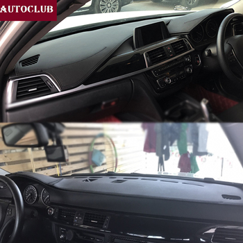 For BMW 3 Series 320I 325I E90/E91/E92/E93 F30/F31/F34 2006-2018 Leather Dashmat Dashboard Cover Prevent Sunlight Pad Dash Mat