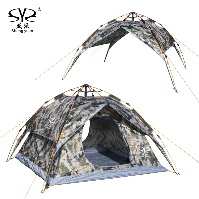 2017 New Super Automatic 3-4 people 4 Season building Free Account camping tents double layers rainproof beach tent garden fish комбинезон free people free people fr045ewtgl49 page 3
