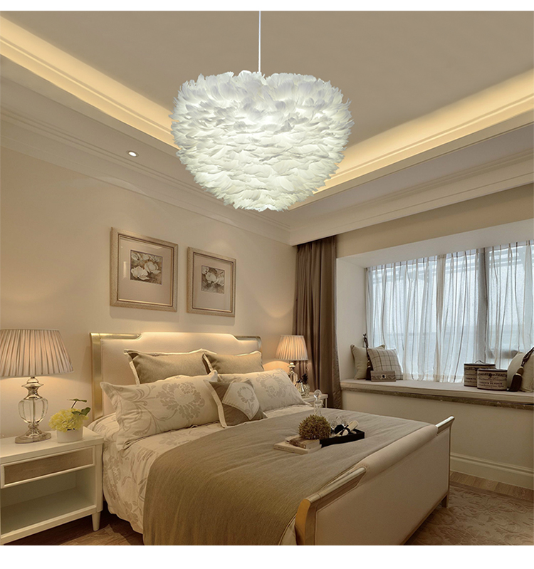 LED Flower drop wind droplight foyer bedroom dinning living room Modern feather chandelier white fashion chandelier hanging lampLED Flower drop wind droplight foyer bedroom dinning living room Modern feather chandelier white fashion chandelier hanging lamp