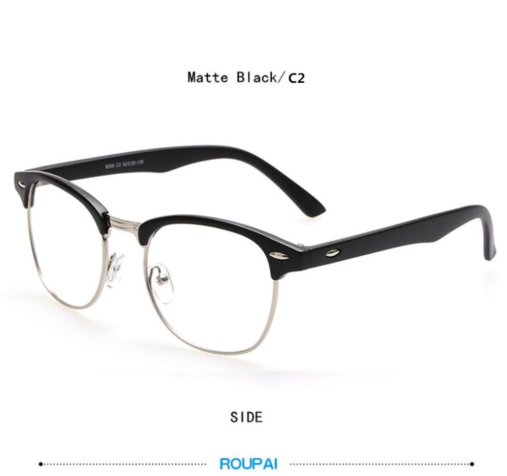 85fab5561aaa8b ROUPAI Merk Mode Lezen Nerd Brilmonturen Mannen Vrouwen Plein Clear Fake  Eyewear oculos Brillen met doos 8084USD 4.68 piece
