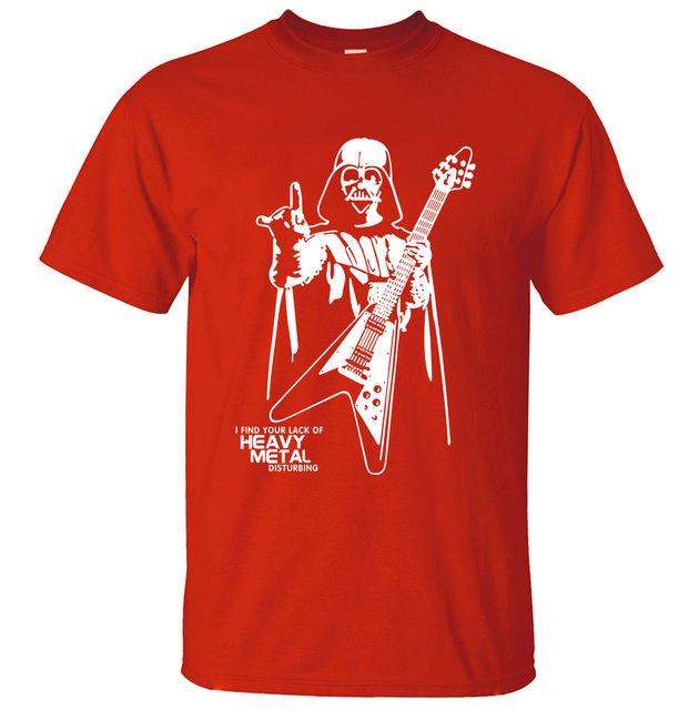 Darth Vader Heavy Metal T-Shirt (8 Colors)