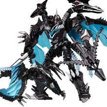 weijiang Oversize 21 27CM Anime Transformation Dinosaur Kids Toys Dragon Robot  Alloy Action Figures Brinquedos Classic Toys Boy