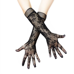 Image 2 - Sexy Lingerie For Roleplay Games Lace Transparent Long Sex Gloves Women Cosplay Bride Erotic Costumes Fetish Sex Toys For Adults