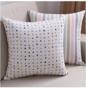 30x50/40x40/45x45/<font><b>50x50</b></font>/60x60/70x70cm Cotton linen simple printed cushion cover <font><b>pillowcase</b></font> decorative waist pillow case home image