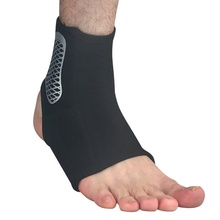 USA shipping 1pc Sports Ankle Support unisex Ankle Fitness Gym Elastic High Protect Sports Ankle Brace Guard Foot Protector Wrap