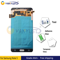 Original Super Amoled LCD Screen Touch Digitizer Assembly For Samsung Galaxy Note5 N9200 N920F N920A N920T