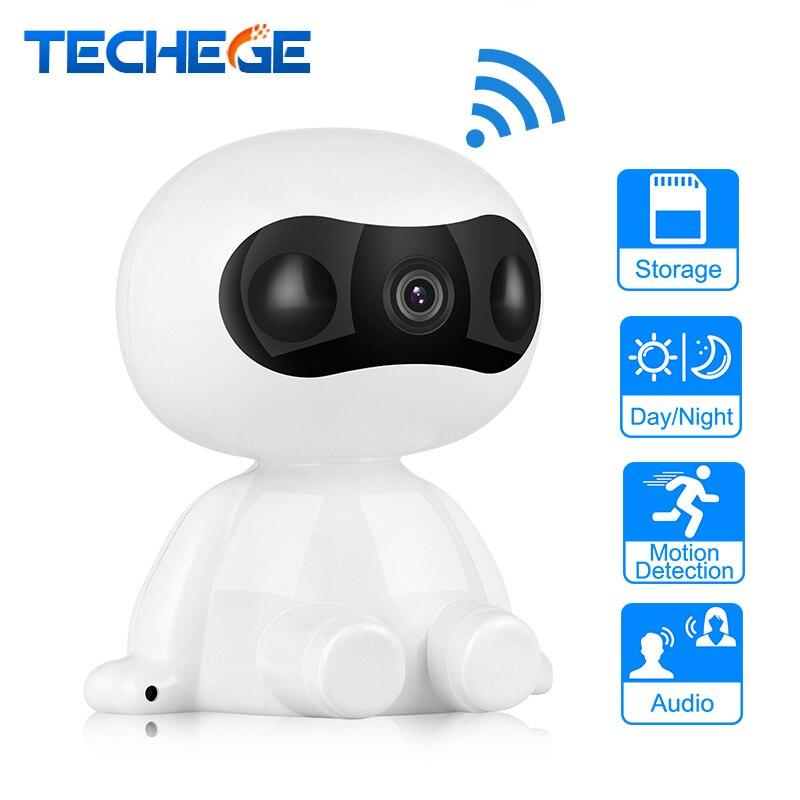 Techege 3MP/2MP/1.3MP HD Sans Fil IP Caméra Robot Caméra 1080 p Wifi audio bidirectionnelle Nuit vision Caméra Réseau IP CCTV Caméra