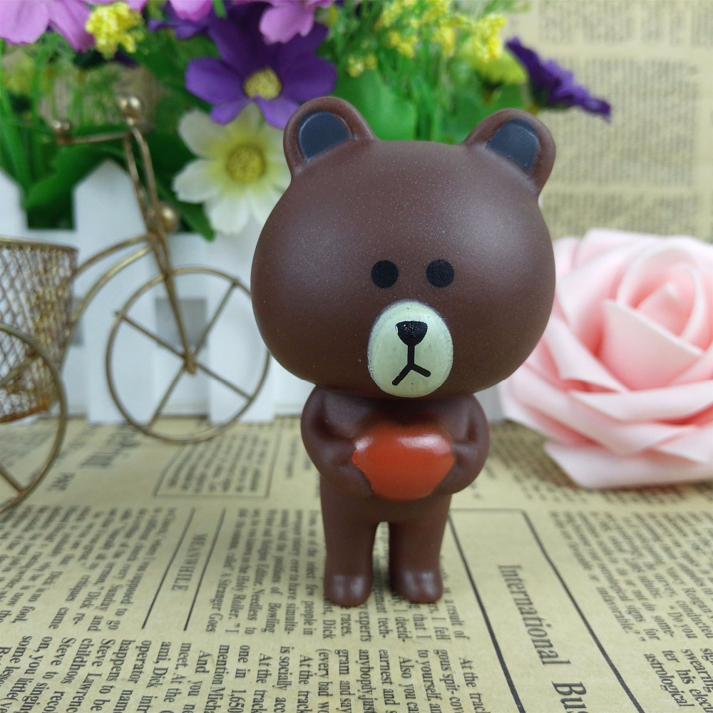 PG New exotic grizzly cartoon doll toy