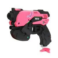 Takerlama 2017 Hot Game Over Watch OW Weapon D.Va Gun Headset Halloween Cosplay Props Headset Gift OW Accessories