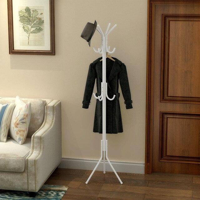 Edelstahl Mantel Rack Stehend Diy Kreative Multi Haken Kleiderbügel