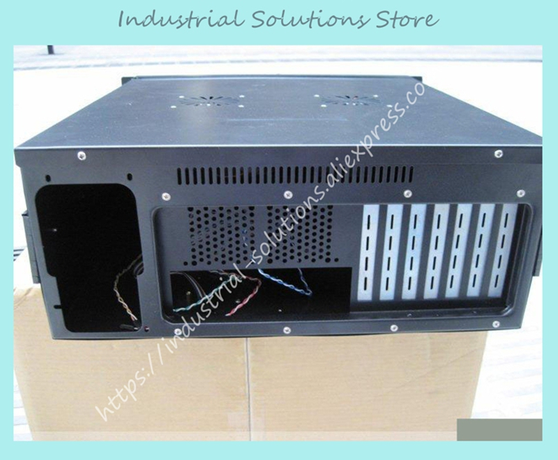 New 4U Industrial Computer Case 4U Server Computer Case PC Motherboard 648pcs set direct heating bga stencil bga reballing stencil kit esd tweezers solder balls paste flux bga desoldering wire