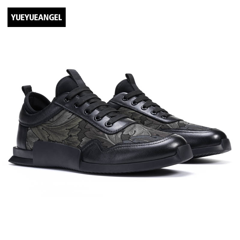 England Style New Punk Genuine Leather Cow Men Lace Up Breathable Male Casual Shoes Schoenen Mannen Schuhe Herren Sepatu Pria top quality england style retro mens cow genuine leather brogue shoes male casual shoes lace up round toe breathable wing tip