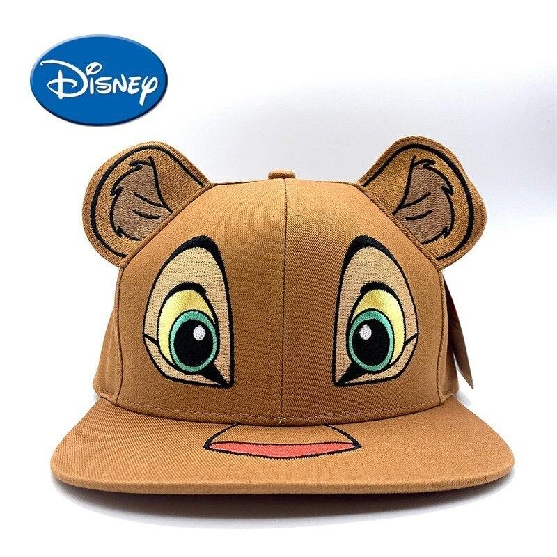 Disney Lion King Baby Hat Cartoon Simba Kids Hat Sunshade Nala Children Hat