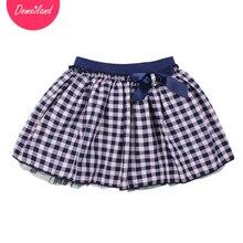 2017 marque De Mode domeiland printemps Enfants Filles vêtements Tutu Jupe Pour Coton Arc Enfants partie belle Mousseline de Soie Jupe vêtements