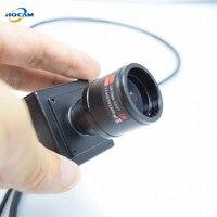 HQCAM 1080P mini IP Camera ONVIF 2.8 12mm manual varifocal zoom lens P2P Plug and Play With metal bracket small CAMERA Security