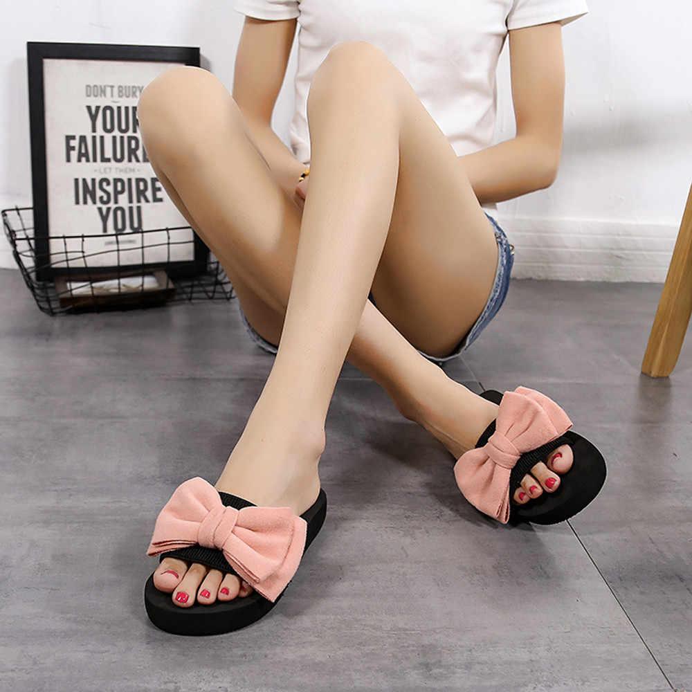 ผู้หญิงฤดูร้อนรองเท้าแตะรองเท้าแตะ Feminino รองเท้าแตะชายหาดผู้หญิงเพิร์ลรองเท้าแตะสุภาพสตรีรองเท้ารองเท้าดอกไม้รองเท้าแตะ