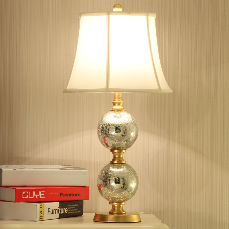 Led Table lamp Lustre Gourd Table Lamps For Living Room Bedroom Light Glass Desk Lamp Fabric Lampshade Home Lighting abajour fumat stained glass table lamp high quality goddess lamp art collect creative home docor table lamp living room light fixtures