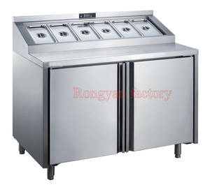 Operating Vegetable Bench Salad Storage Fruit-Pulp Air-Cooling Partical