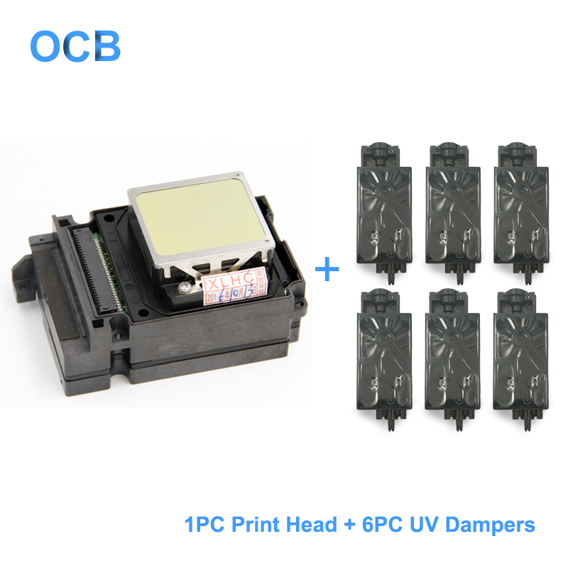 F192040 DX8 DX10 TX800 Print Head UV Printhead For Epson TX800 TX710W TX720 TX820 PX720DW PX730DW TX700W TX800FW PX700WD PX800FW-in Printer Parts from Computer & Office