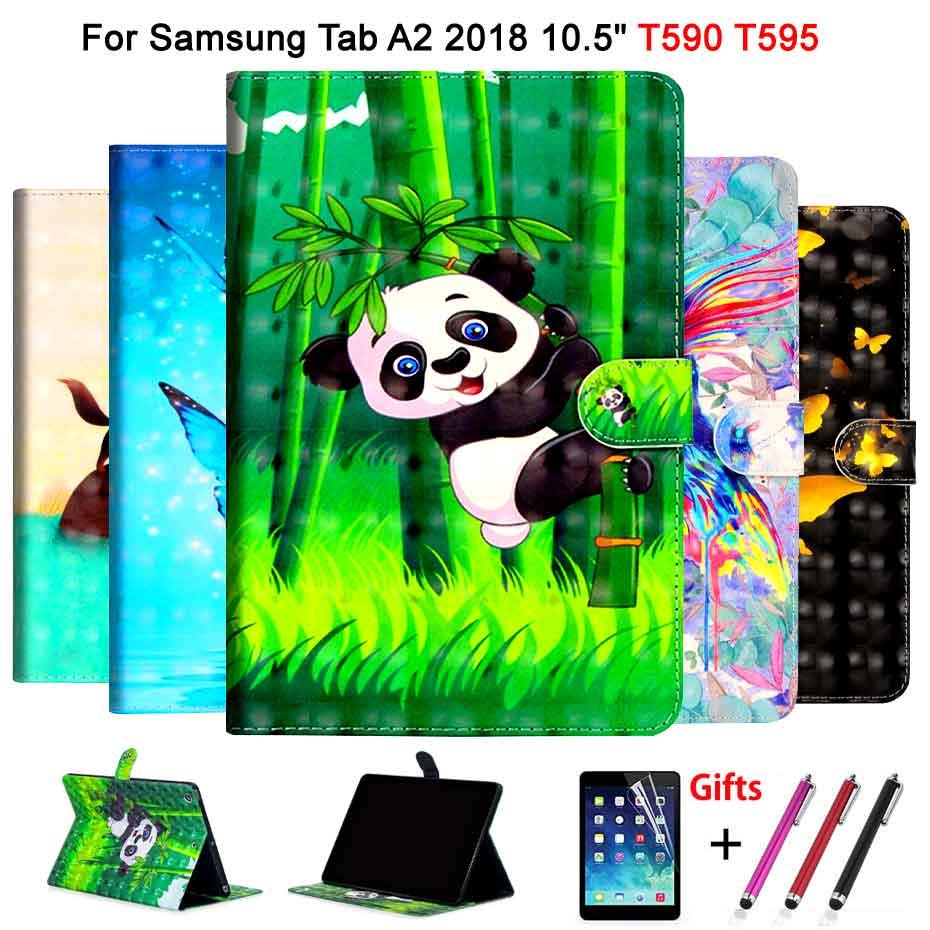Leather Case For Samsung Galaxy Tab A A2 2018 10.5