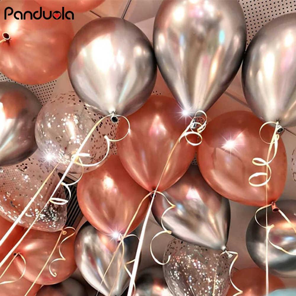 สำเร็จการศึกษา Decor Confetti บอลลูน Happy Birthday Decor Party Boy โลหะบอลลูน Neon ตกแต่ง 25th วันเกิด