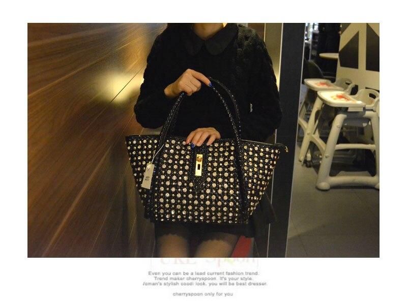 Dames Messenger or D'épaule Sacs À Main Boulettes Mode Femmes Strass Forage Femme Noir Bjyl Nouvelles De rouge Sac 2019 Bandoulière blanc Diamants En argent wq4xAUZ