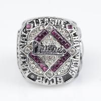 Replica 2009 Philadelphia Phillies Major League Baseball MLB High Quality Championship Rings Size 11
