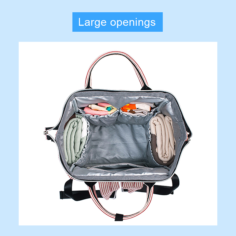 Baby-Diaper-Bag-Mummy-Maternity-Travel-Waterproof-Bag-Nappy-Changing-Backpack-Organizer-Nursing-Wet-Bag-Large-Capacity-Baby-Bag-(10)