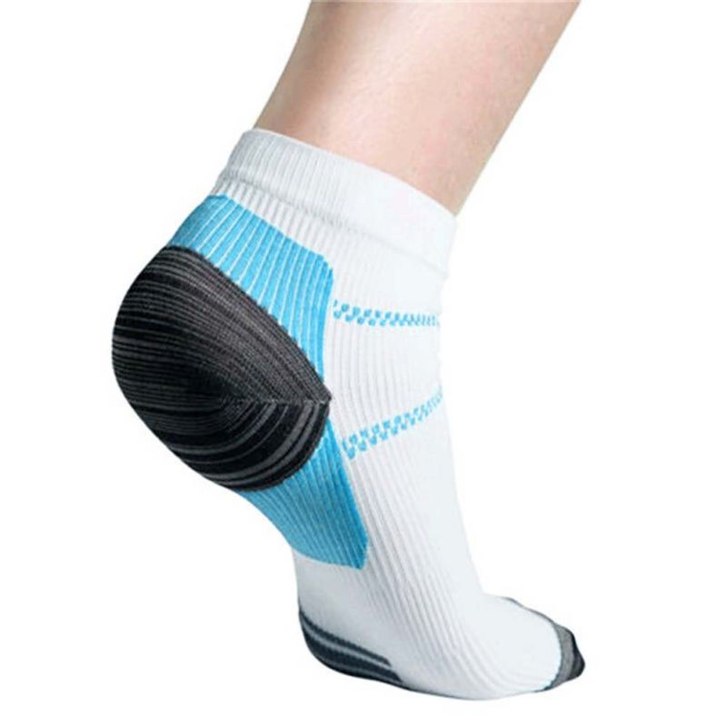 Unique  Breathable Plantar Fasciitis Heel Arch Pain Relieving Compression Sport Socks New 2018