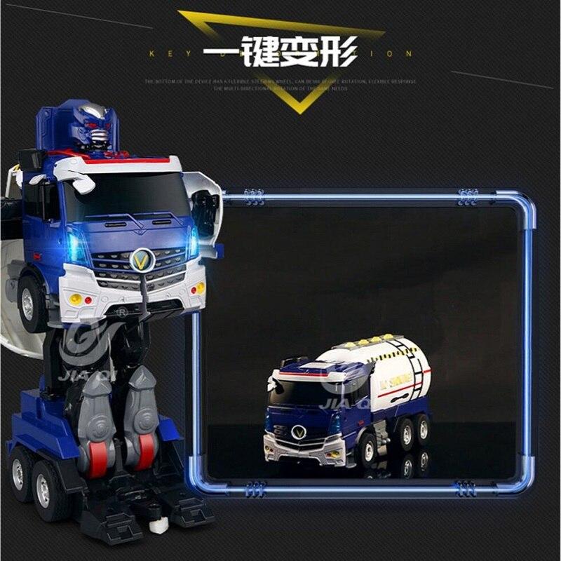 Transformateur telecommande arroseur moteur changes union britannique voiture citerne homme jouet enfant cadeaux educatif voiture RC electrique