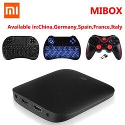 Original Xiaomi MI TV BOX 3 Smart 4K Ultra HD 2G 8G Android 6.0 Movie WIFI Google Cast WiFi Bluetooth Media Player Set top Box