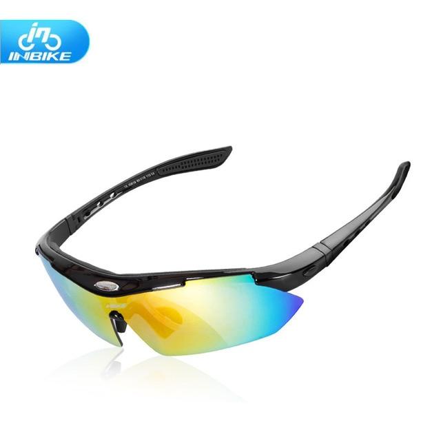 b2c6d2ca0e0 INBIKE Cycling Glasses UV400 Protect Bicycle Men Women Sunglasses Glasses  Outdoor Sport Running Cycling Bike Eyewear 5 Lens z4