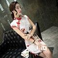 Elegant Cheongsam QiPao Slim Dress Chinese Women Dress