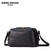 EMINI HOUSE New Arrival Fashion Sheepskin Hobos Bag Women Messenger Bags Genuine Leather Shoulder Bag Crossbody