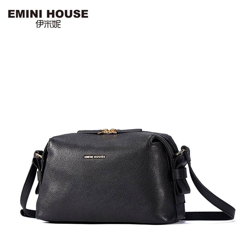 EMINI HOUSE New Arrival Fashion Cow Leather Hobos Bag Women Messenger Bags Genuine Leather Shoulder Bag Crossbody Bags For Women maihui designer handbags high quality shoulder crossbody bags for women messenger 2017 new fashion cow genuine leather hobos bag