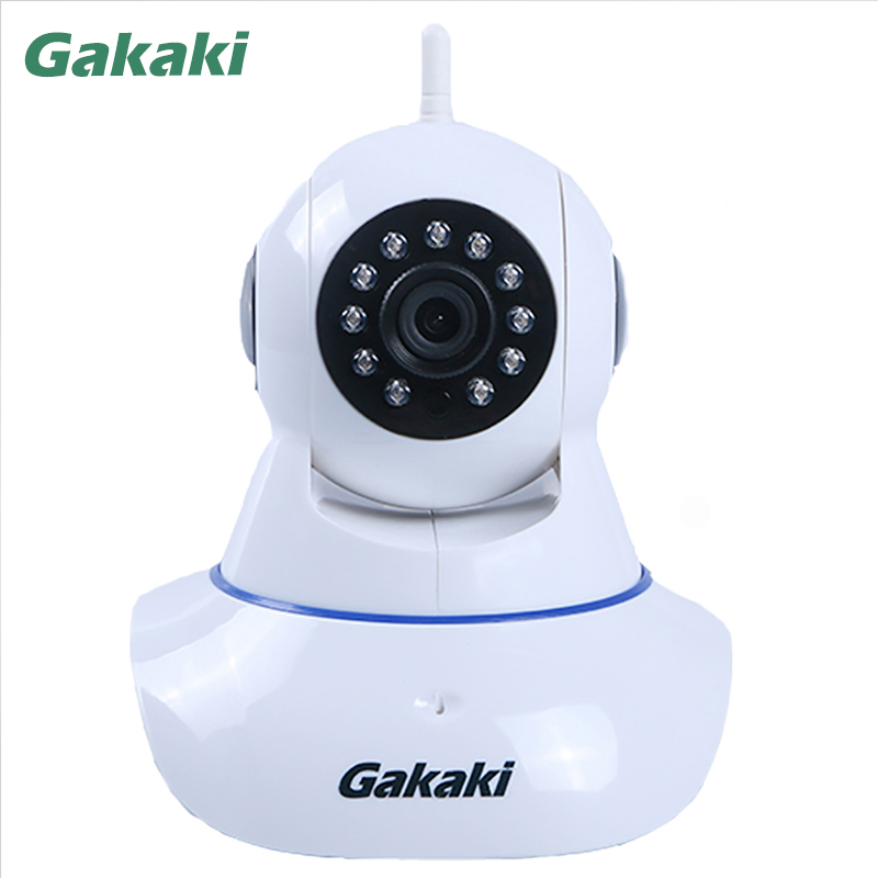 Gakaki Wireless IP Camera Baby Monitor Audio Record Surveillance Onvif Network Wifi Night Vision CCTV Home Protection Security