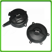 Racing Engine Cover Set Protection Guard For Ducati 1199 Panigale 2012 2013 2014 & 1299 2016