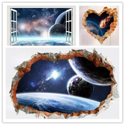 decoraciones de dormitorio del sistema solar Hogar Y Cocina Decoracin Del Hogar Nueve Planetas Del