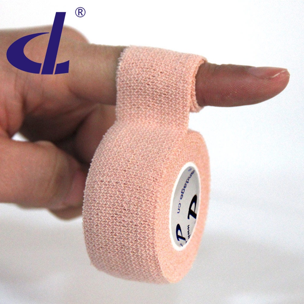 Prix pour DL Marque Doigt bande 6 rouleaux 100% Coton protection des Doigts 2.5 cm x 3.6 m Pour Golf Volley-Ball Basket-Ball Vélo de pêche Sport