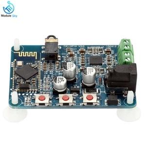 Image 3 - PAM8610 Bluetooth 4.0 ses amplifikatörü Kurulu Oyuncu Modülü DC12V 2X10 W Çift Kanal Stereo HiFi Hoparlör Bluetooth AMP