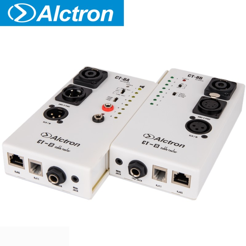 Alctron CT 8 multi purpose audio cable tester test for diversity cable use in stage or