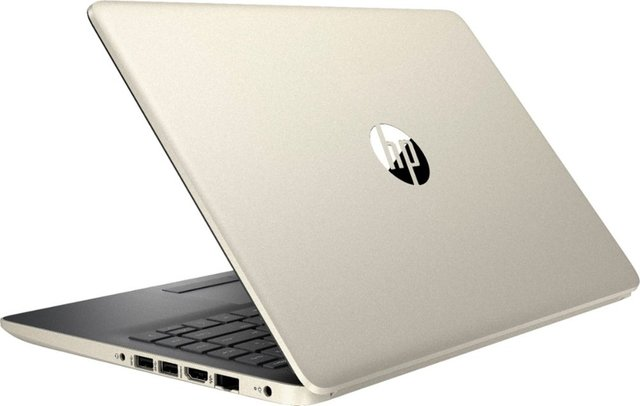 HP - 14 Laptop - Intel Core i3 - 8GB Memory - 1TB Hard Drive - HP Finish In Pale Gold And Ash Silver