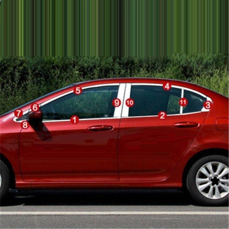 Window Body Door Handle Automobile Chromium Car Styling Decoration Modification 08 09 10 11 12 13
