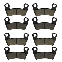 цены Motorcycle Parts Front Rear Brake Pads Kit For POLARIS UTV RZR S 1000 EPS 2016 2017 RZR S 900 EPS  2015 2016 2017